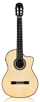 CORDOBA GK Pro Negra. Solid European spruce top, Solid Indian rosewood back and sides.