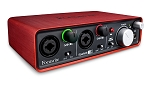 FOCUSRITE Scarlett 2i2 MK2 USB Audio Interface