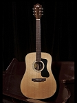 Guild GAD Series D-150 Dreadnought Guitar With Solid Spruce Top, Solid Rosewood Back and Sides