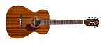 GUILD M-120E Acoustic guitar Natural finish, with polyfoam case.