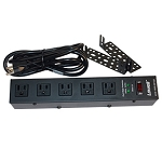 Lowell ACS-1505-SW-SD 15A Power Strip With Cord