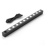 Lowell ACS-1510-WW 15A Power Strip With Cord