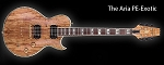 ARIA Custom Shop PE-EXO electric guitar BRAND NEW!