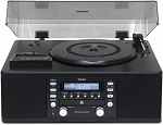 TEAC LPR-550USB-B CD Recorder with Cassette and Turntable