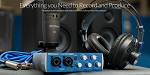 PRESONUS Audiobox Studio Ultimate. Complete mobile recording kit for Mac or Windows!