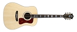 GUILD D-55E Natural finish, 6 -string  Acoustic guitar with case