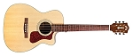 GUILD OM-140CE Acoustic guitar Natural finish, with case.