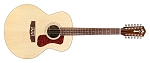 GUILD F-1512E 12 -string  Acoustic guitar Natural finish, with GUILD polyfoam case.