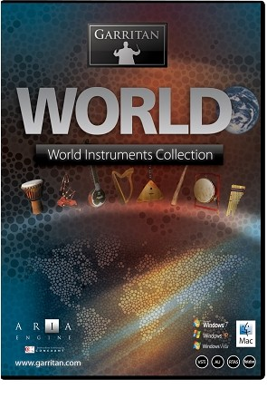 Garritan World Instruments Sound Library (boxed version)