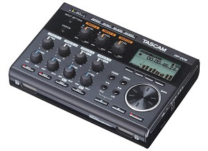 TASCAM DP-006 (Side view)