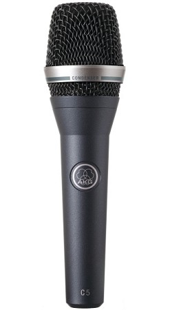 AKG C5 Professional Condenser Vocal Microphone (Front view)