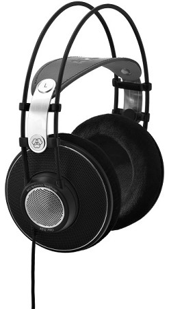 AKG K612 PRO Reference Studio Headphones (Side view)