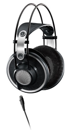 AKG K702 Reference Studio Headphones (Side view)