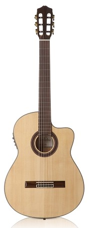 CORDOBA GK Studio classical guitar solid-top cutaway with electronics