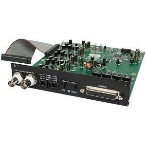 FOCUSRITE ISA 8 Channel A/D Card (Front Angle view)