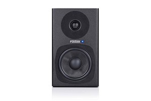 FOSTEX PM0.4d Personal Active Speaker System (Black-Front view)