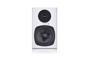 FOSTEX PM0.5d Personal Active Speaker System (White-Front view)