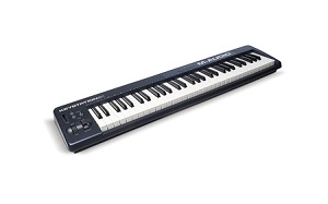 M-AUDIO Keystation 61 Mark II 61-Key MIDI Controller (Front Angle view)