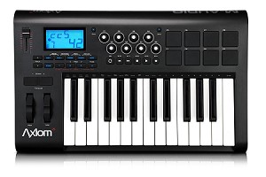 M-AUDIO Axiom 25 - New - Advanced 25-Key Semi-Weighted USB MIDI Controller
