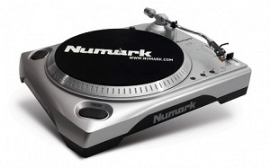 Numark TTUSB Turntable with USB Audio Interface (Front Angle view)