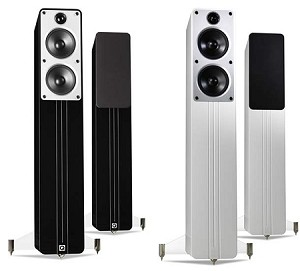 Q ACOUSTICS Concept 40 loudspeakers (Both Colour Options Shown)