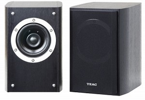 TEAC  LS-301-(S/B) Coaxial 2-Way Speaker (Black colour- Front view Pair)