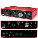 FOCUSRITE Scarlett 8i6 3rd Generation Audio Interface